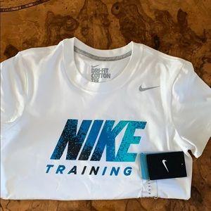 Nike short sleeve shirt - dri- fit size medium